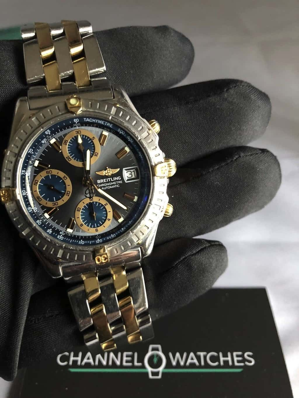 Breitling Chronomat Auto gold riders NOW SOLD