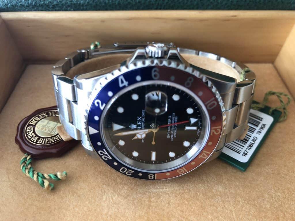 Rolex GMT Master II BLRO Pepsi