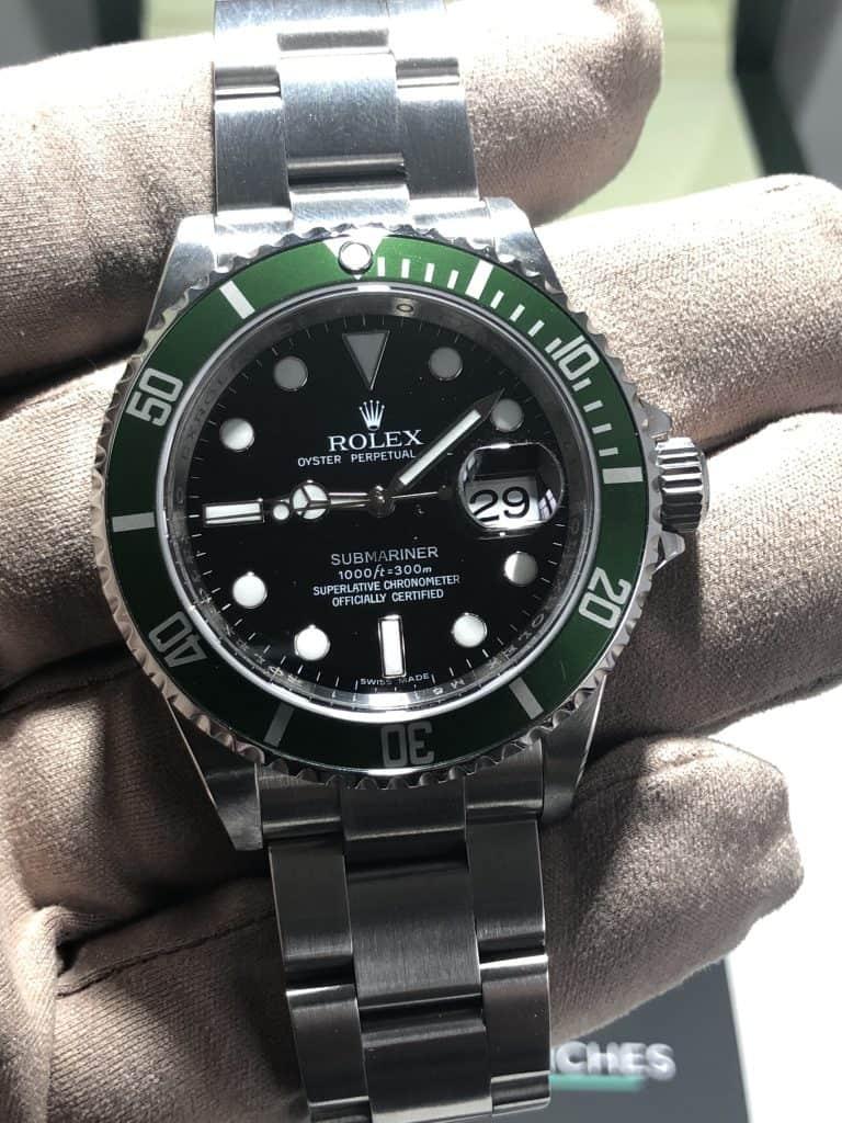 Rolex Submariner Anniversary Stainless Steel LV Kermit