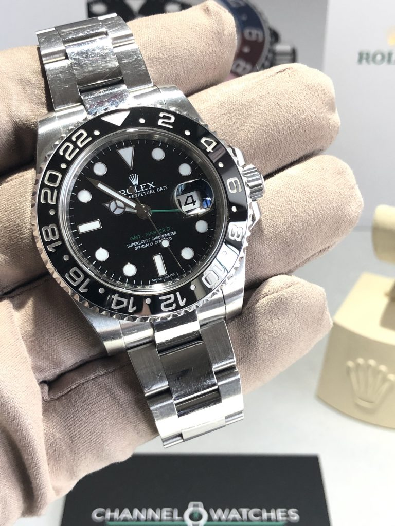 Rolex GMT2 Stainless Steel  2012